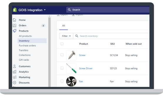 Shopify Inventory Automation